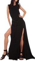 Norma Kamali Women's Sleeveless Elephant Dress - Black