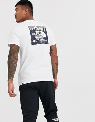 The North Face Redbox Celebration t-shirt in white