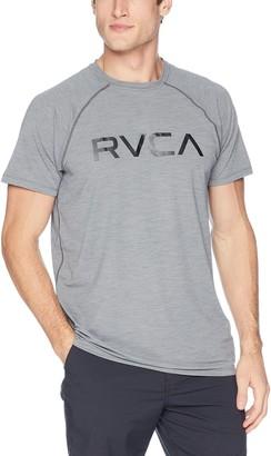 RVCA Men's Micro MESH Short Sleeve T-Shirt
