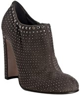 ash suede studded ankle boots
