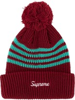 Supreme 4-Stripe Loose Gauge beanie