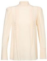 Givenchy Long sleeve turtleneck blouse