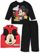 """Disney Mickey Mouse Little Boys' Toddler """"Too Cool!"""" 3-Piece Outfit"""