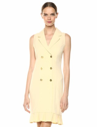 Sharagano Women's Double Breasted Shirtdress