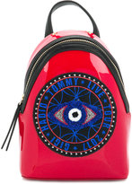 Tommy Hilfiger embroidered patch backpack