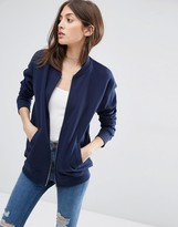 Asos The Ultimate Bomber Jacket In Jersey