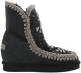 Mou Embellished Eskimo Ankle Boots