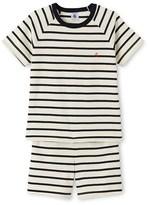 Petit Bateau Boys striped short pyjamas