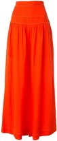 Ginger & Smart Contrast-Stitching Wide-Leg Trousers