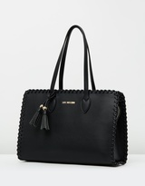 Love Moschino Tassel Detail Tote Bag