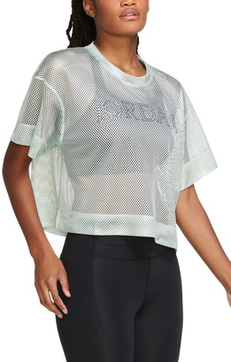Jordan Logo Mesh Crop Top