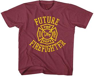 American Classics Boys' Tee Shirts VINTAGE - Vintage Burgundy 'Future Firefighter' Tee - Toddler & Boys