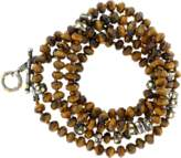 Yossi Harari Libra Tiger Eye Wrap Necklace