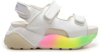 Stella McCartney Strapped Rainbow Sole Sandals