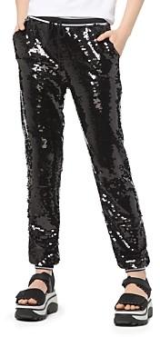 MICHAEL Michael Kors Sequined Jogger Pants