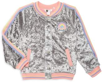 Pl Kids Little Girl's & Girl's Bomber Jacket
