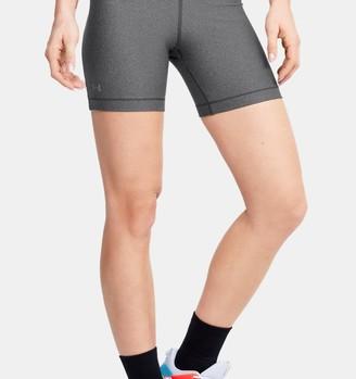 Under Armour Women's HeatGear Armour Mid Shorts