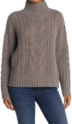 360 Cashmere Alexia Cable Knit Pullover Sweater