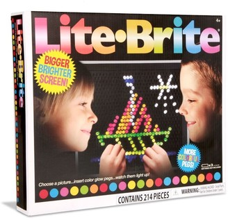 Everest Toys Lite Brite Retro Style