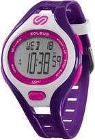 Soleus Women's SR019-515 DASH Stainless Steel Running Watch with Purple Band