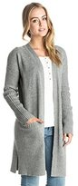 Roxy Junior's Early Riser Solid Cardigan Sweater