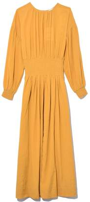 Rodebjer Roma Dress in Mustard