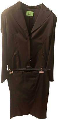 Thierry Mugler Black Polyester Jackets