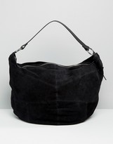 Asos Oversized Suede Slouch Bag