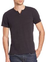 Joe's Jeans Wintz Short-Sleeve Cotton Henley