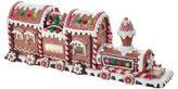 Kurt Adler 19.5 Gingerbread LED Train Tablepiece
