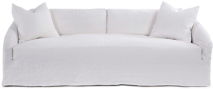 Reilly Slipcover Sofa - Ivory Linen - Community