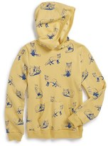 Wildfox Couture Girl's 'Fox Toile' Graphic Hoodie