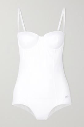 Dolce & Gabbana Underwired Swimsuit - White
