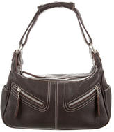 Tod's Grained Leather Mini Shoulder Bag