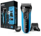 Braun Series 3 Shave&Style 3010BT 3-in-1 Electric Wet&Dry Shaver with Precision Trimmer