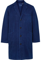 Blue Blue Japan Indigo-Dyed Sashiko Cotton Coat