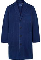 Blue Blue Japan Indigo-dyed Sashiko Cotton Coat