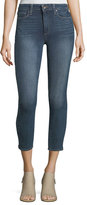 Paige Hoxton Mid-Rise Crop Skinny Jeans