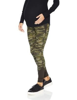 Motherhood Maternity Women's Maternity Color Block Secret Fit Belly Leggings
