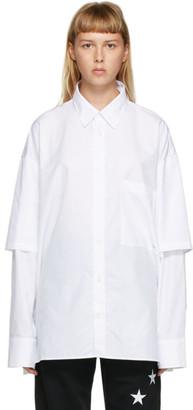 Études White Iron Monogram Shirt