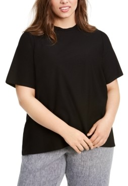 Eileen Fisher Plus Size T-Shirt