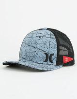 Hurley Maps Mens Trucker Hat