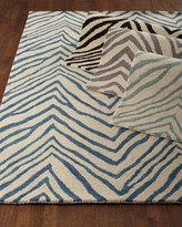 Mikki Zebra-Print Rug, ...
