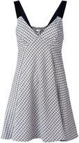 P.A.R.O.S.H. herringbone patterned sleeveless dress - women - Cotton/Acrylic/Polyamide/Wool - XS