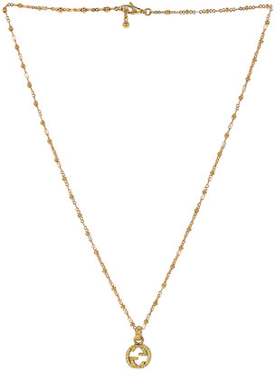 Gucci GG Necklace in Yellow Gold | FWRD