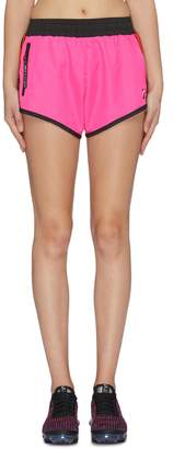P.E Nation 'Saber' contrast piping shorts