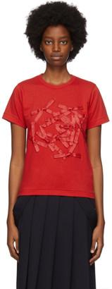COMME DES GARÇONS GIRL Red Bow T-Shirt
