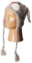 San Diego Hat Company KNH3344 Knit Bunny Face Trapper with Long Ears & Tassels