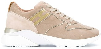 Hogan Low-Top Leather Sneakers