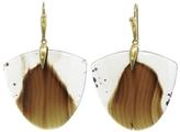 Annette Ferdinandsen Large Montana Agate Moth Earrings